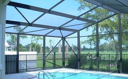 Pool Enclosure Screen Repair
