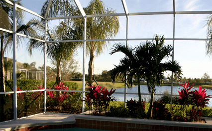 POOL ENCLOSURE SCREEN REPAIR IN FLORIDA